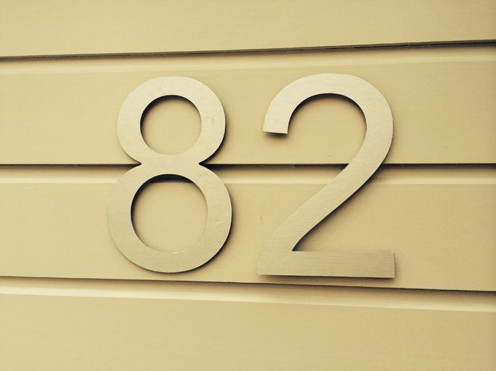 Bungalow Numbering